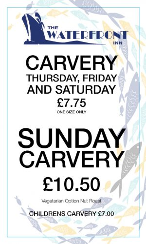 Waterfront Carvery Banner
